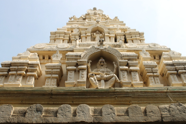An example of Hindu architecture